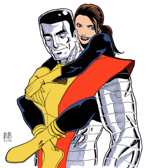 Colossus e Kitty Pride