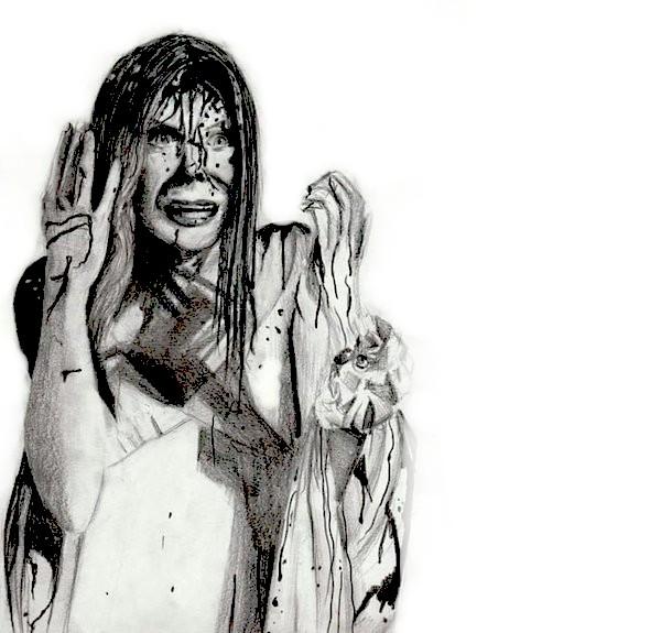Carrie, A Estrenha – Desenho by Kill-The-Killer