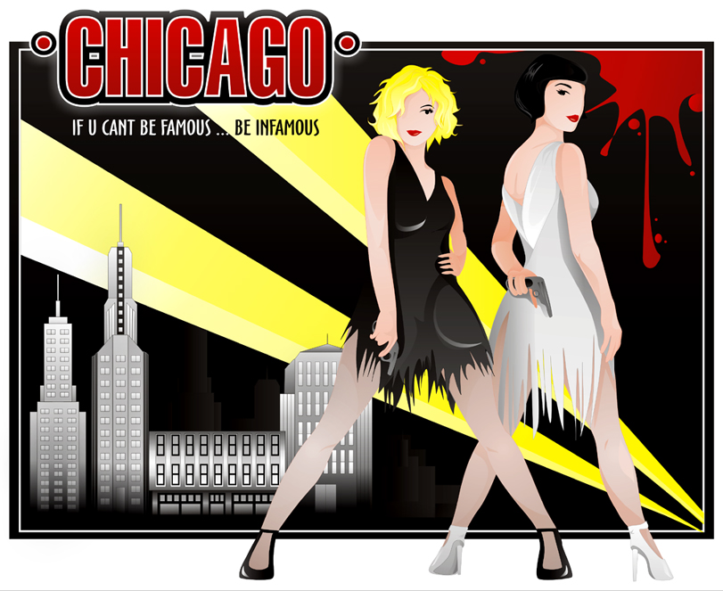 Chicago – Desenho by Drussila