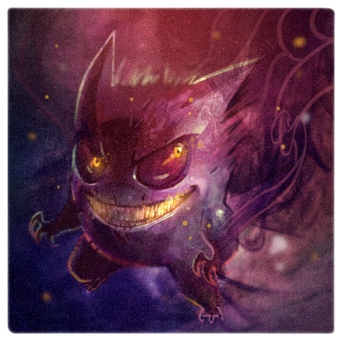 Gengar-By-Mike-Puncekar