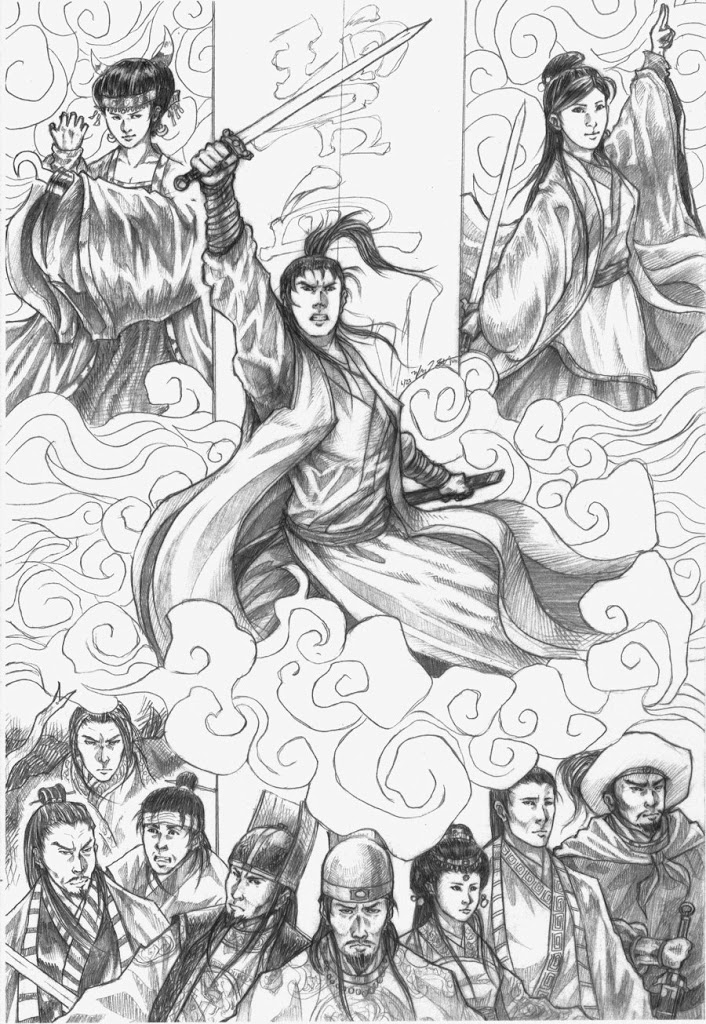 Herói – Desenho by Fong-Saiyuk