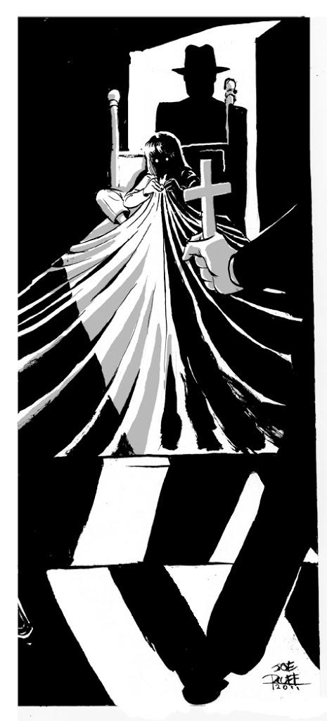 O Exorcista – Desenho by JoeRuff