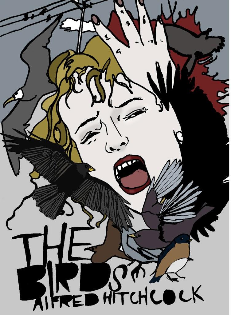 Os Pássaros – Desenho by S-Sturges