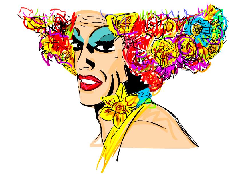 Priscilla, a Rainha do Deserto – Desenho by SequinedSockSociety