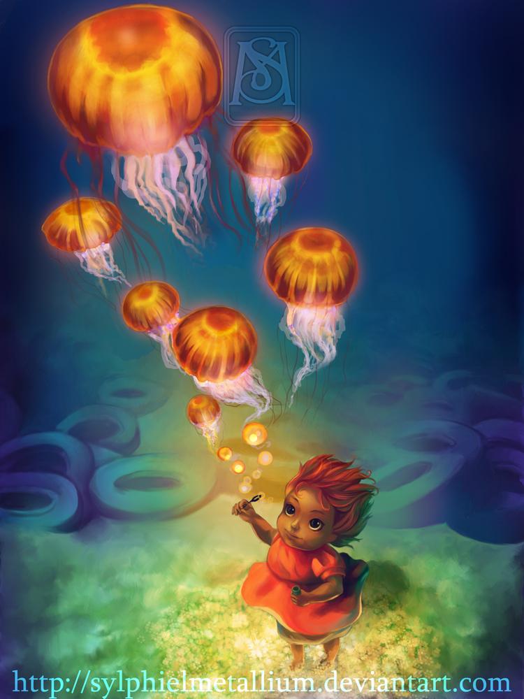 Ponyo – Desenho by Sylphielmetallium
