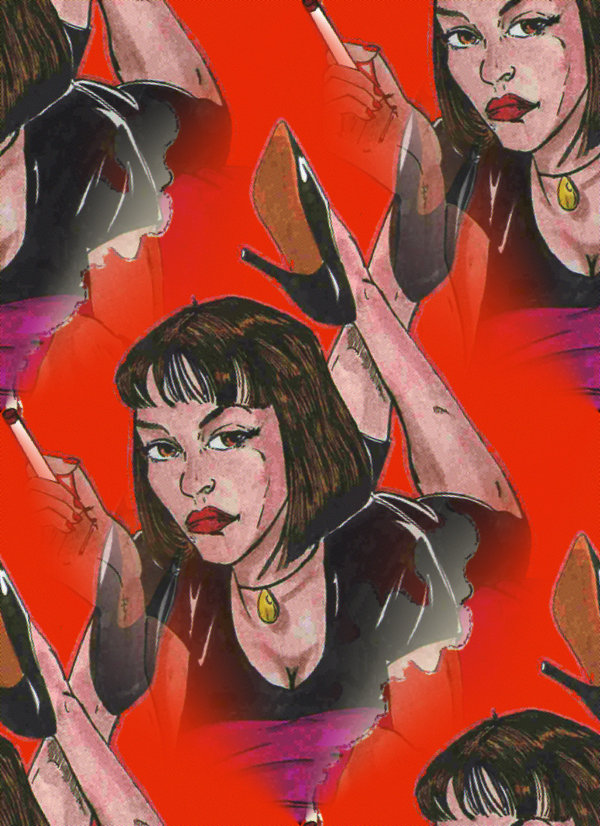 Pulp Fiction – Desenho by Sharley2