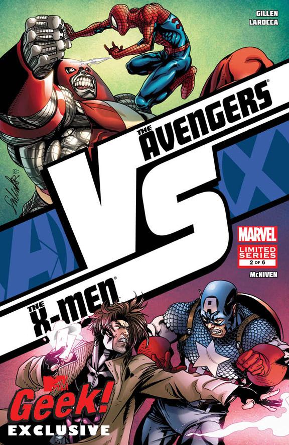 Colossus Vs. Homem-Aranha e Gambit Vs. Capitão América