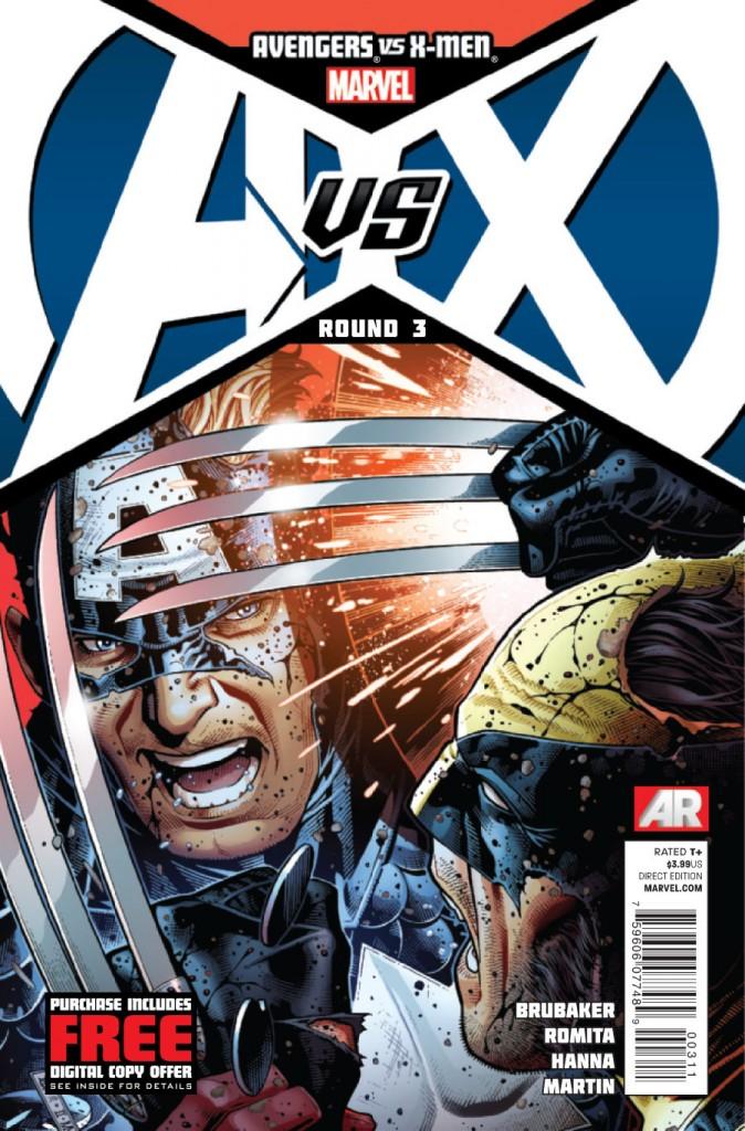 Capitão América Vs. Wolverine