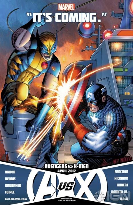 Wolverine Vs. Capitão América