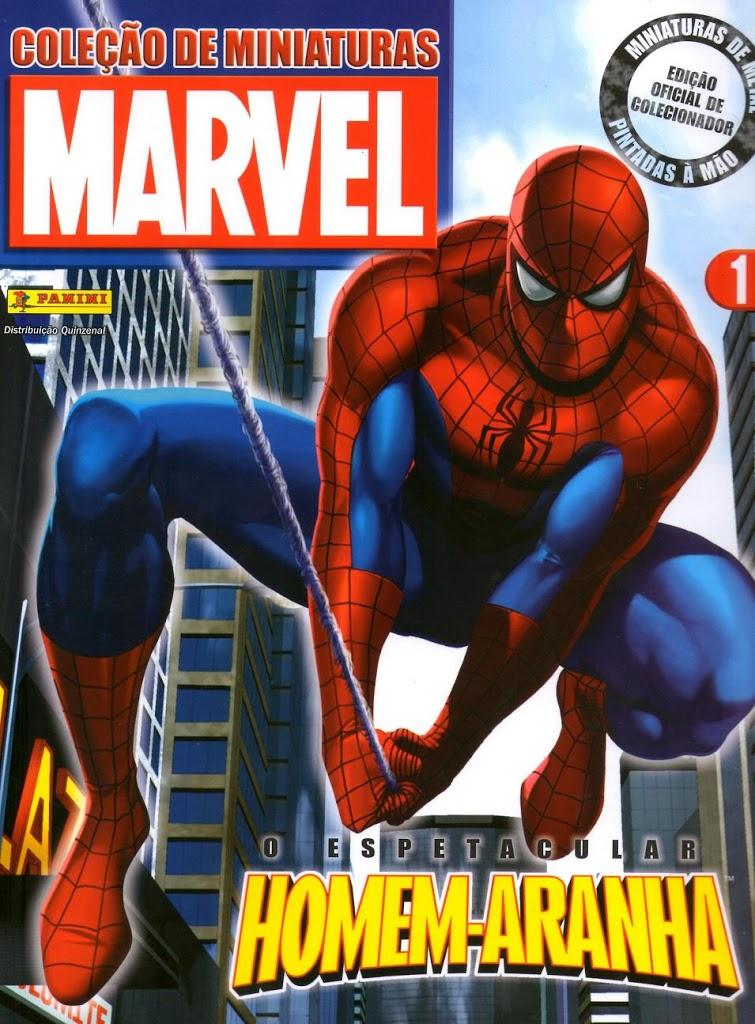 cole-C3-A7-C3-A3o-de-miniaturas-marvel-homem-aranha-capa