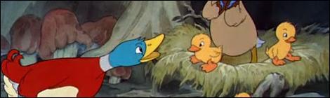 [Eu Vi] O Patinho Feio (Oscar 1940 de Curta Animado) !