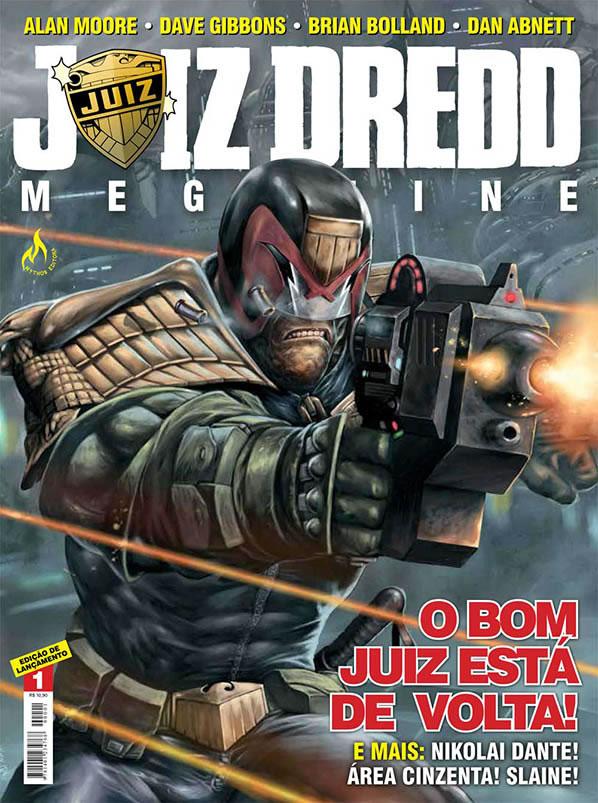 Juiz Dredd Megazine #1
