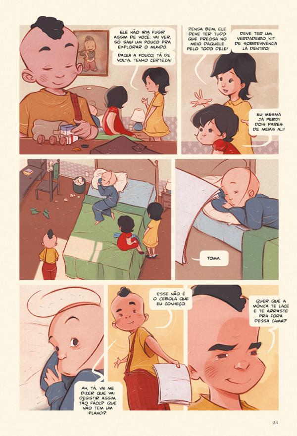 Turma da Mônica - Laços página 2