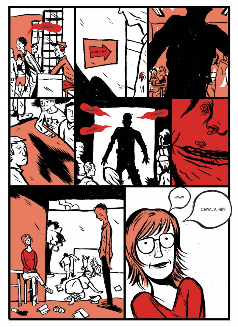 Vigor Mortis Comics página 1