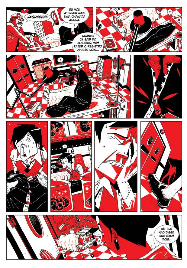 Vigor Mortis Comics página 3