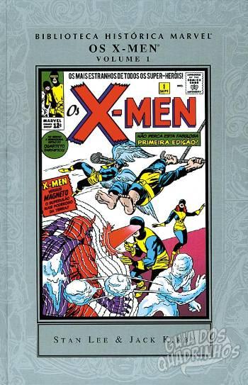 Biblioteca Histórica Marvel - Os X-Men (Panini) #1 2007