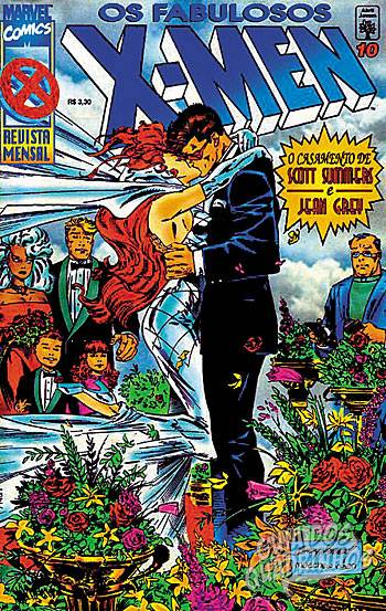 Fabulosos X-Men (Abril) #10 1996