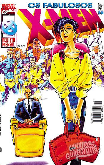 Fabulosos X-Men (Abril) #15 1997