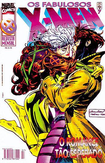 Fabulosos X-Men (Abril) #7 1996