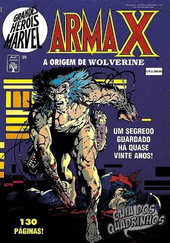Grandes Heróis Marvel (Abril) #35 1992