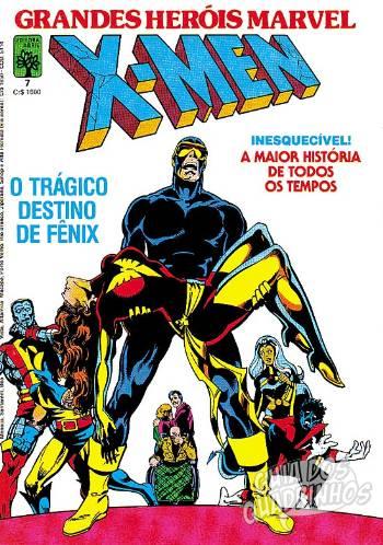 Grandes Heróis Marvel (Abril) #7 1985