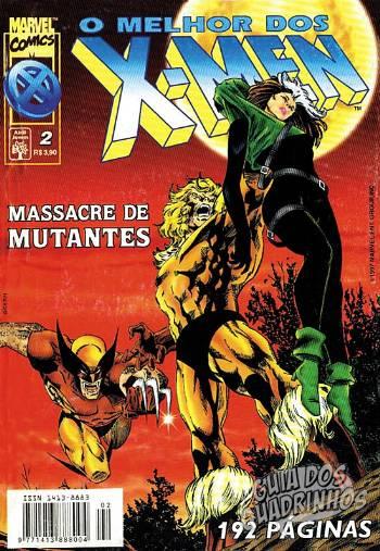 Melhor dos X-Men (Abril) #2 1997