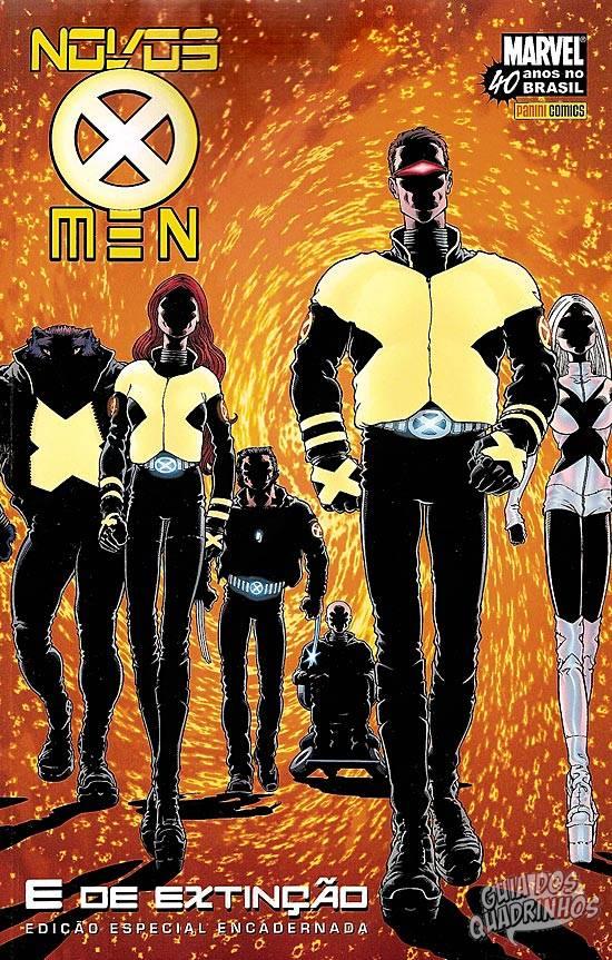 Novos X-Men - E de Extinção (Panini) 2007