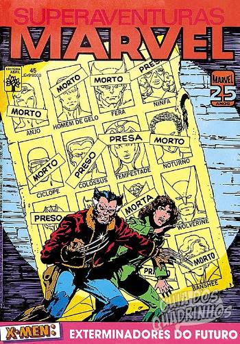 Superaventuras Marvel (Abril) #45 1985
