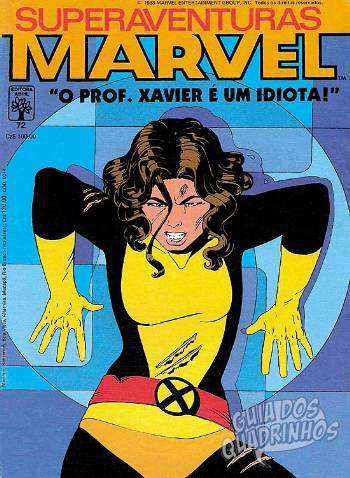 Superaventuras Marvel (Abril) #72 1988