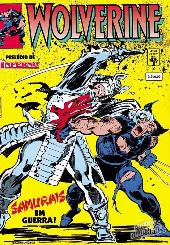 Wolverine (Abril) #3 1992