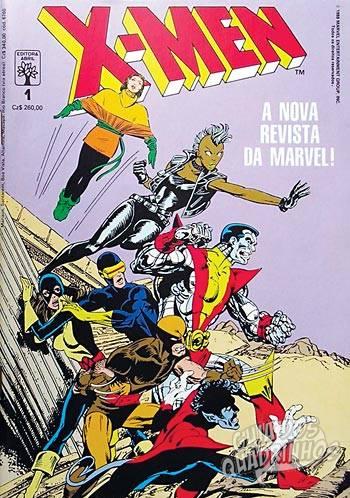 X-Men (Abril) #1 1988