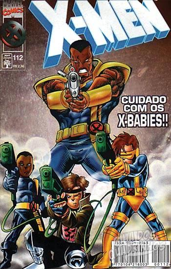X-Men (Abril) #112 1998