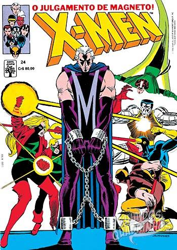 X-Men (Abril) #24 1990