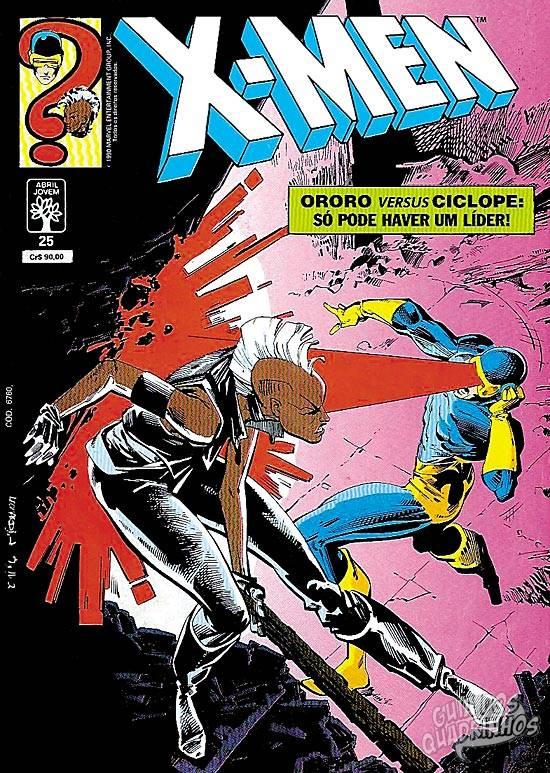 X-Men (Abril) #25 1990