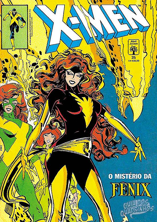 X-Men (Abril) #35 1991
