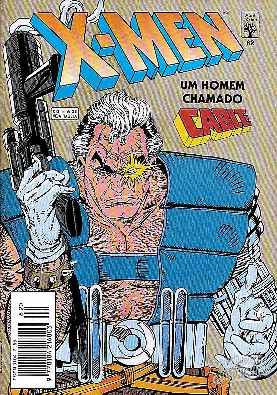 X-Men (Abril) #62 1993