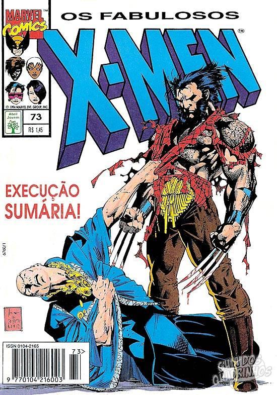 X-Men (Abril) #73 1994
