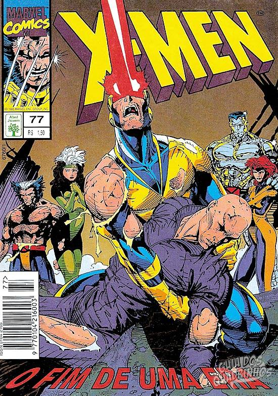 X-Men (Abril) #77 1995