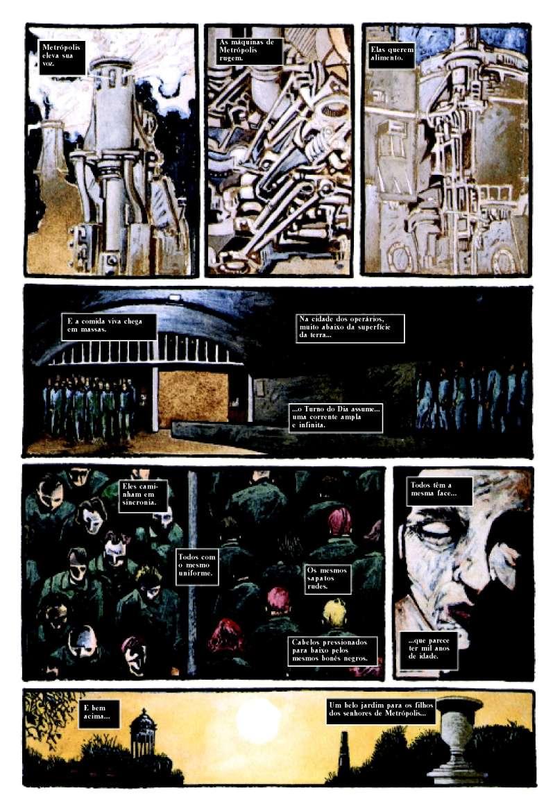 Super-Homem - Metrópolis página 1