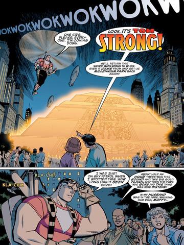 Tom Strong página 3