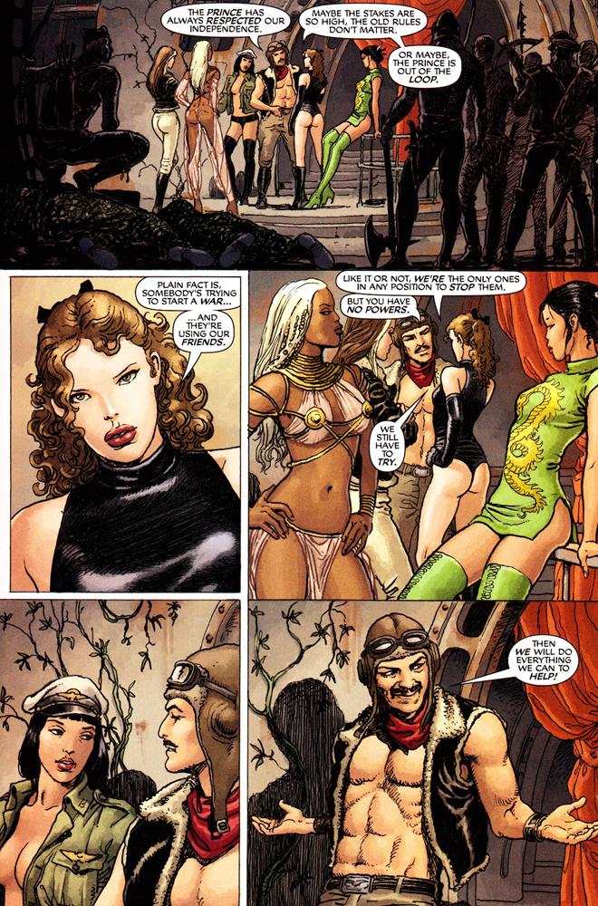 X-Men Garotas em Fuga 3