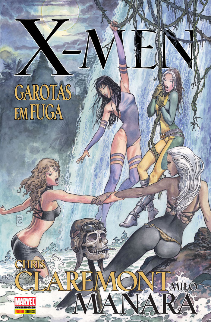 X-Men Garotas em Fuga