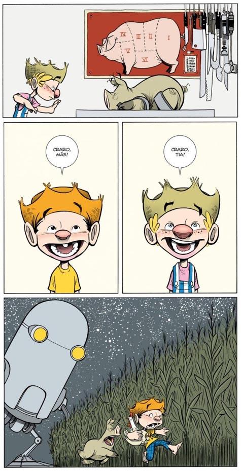 Chico Bento Pavor Espaciar página 1