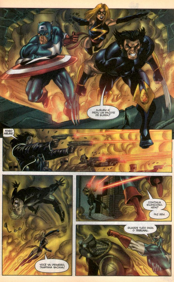 Wolverine & Captain America #3 e #4