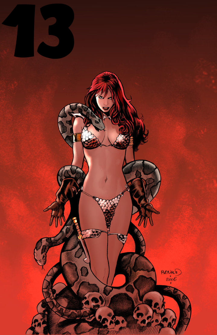Red Sonja by PaulRenaud