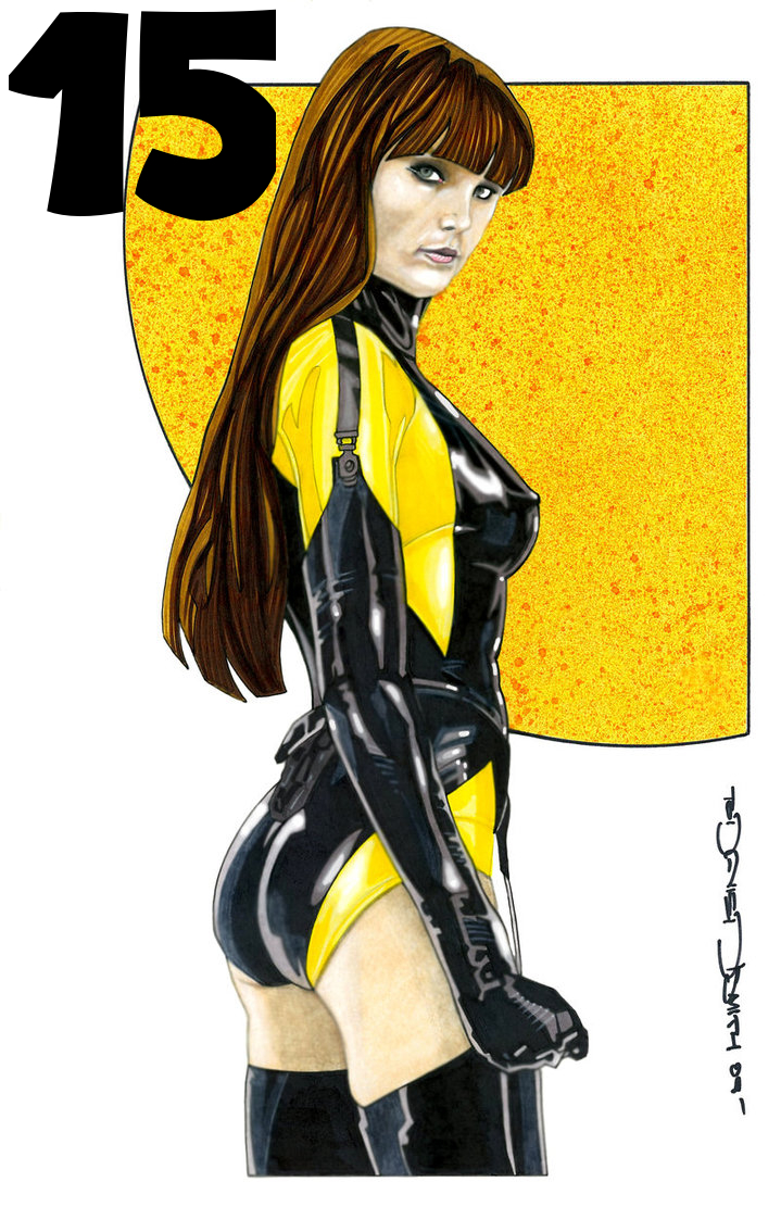 Silk Spectre by NORVANDELL