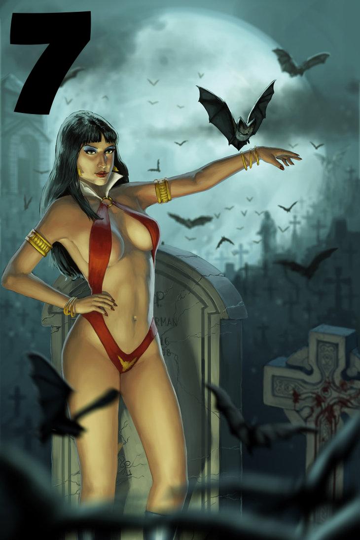 Vampirella by rainerpetterart