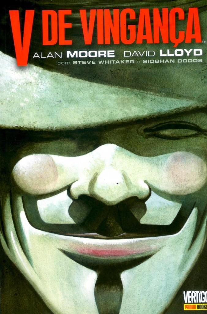 V de Vingança Alan Moore Panini