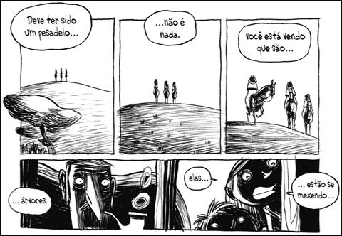 três sombras página 1