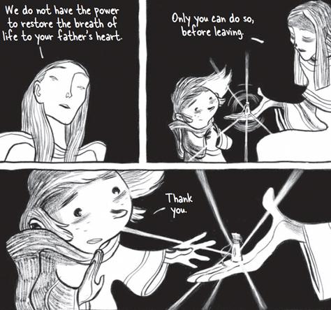 três sombras página 4